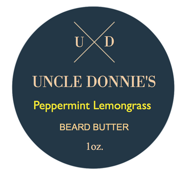 Peppermint Lemongrass Beard Butter 1 oz.
