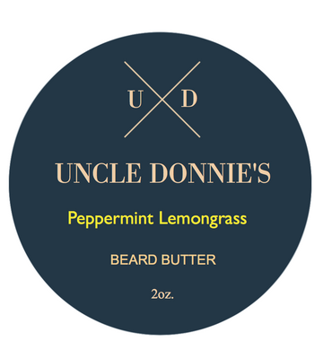 Peppermint Lemongrass Beard Butter 2 oz.