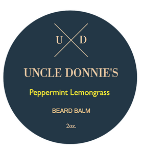 Peppermint Lemongrass Beard Balm 2 oz.