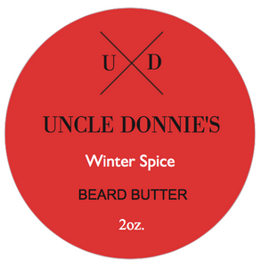 Winter Spice Beard Butter 2 oz.