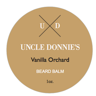 Vanilla Orchard Beard Balm 1 Oz.