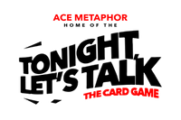 Ace Metaphor - The home of the Tonight, Let's Talk Card Game. Date Night, Couples Edition, Game Night, After Dark. Queens Don't Settle and The Don't Waste My Time Shirts.