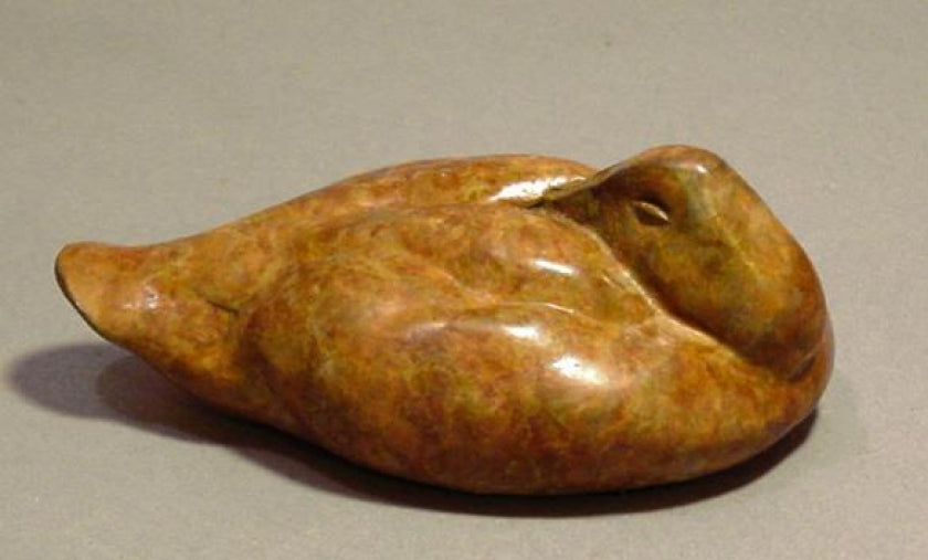 Stefan Savides - Canvasback Mini- Limited Edition Sculpture