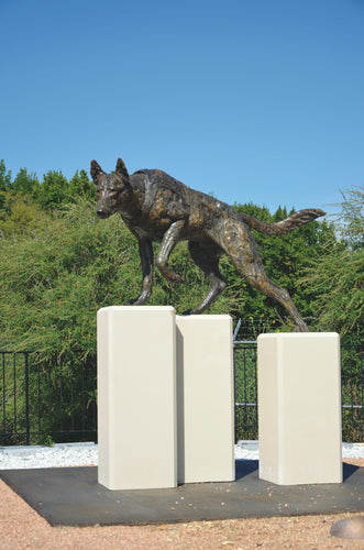 Mick Doellinger-K9 Service-Limited Edition Sculpture