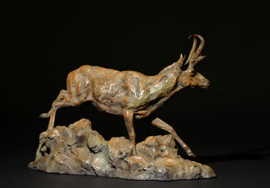 Mick Doellinger-Skimming the Sage-Limited Edition Sculpture