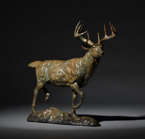 Mick Doellinger-In the Fall-Limited Edition Sculpture
