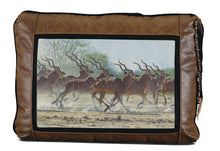 Banovich Wild Accents-Bachelor Herd-Leather Pillow