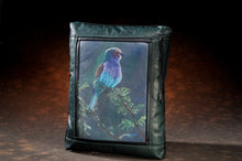Banovich Wild Accents-Lilac Breasted Roller-Leather Pillow