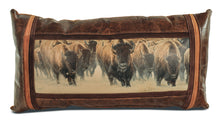 Banovich Wild Accents-Master of the Herd-Leather Pillow