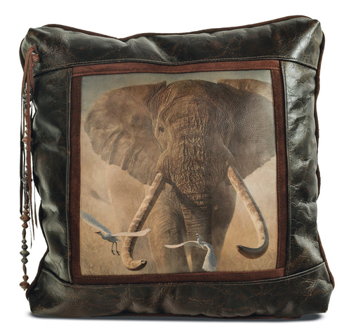 Banovich Wild Accents-Once Upon a Time Pillow-Leather Pillow