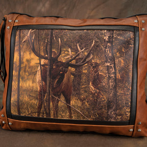 Banovich Wild Accents-Royal Performance-Leather Pillow