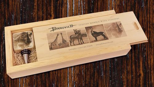 Banovich Wild Accents-Safari Collection-Wine Stoppers
