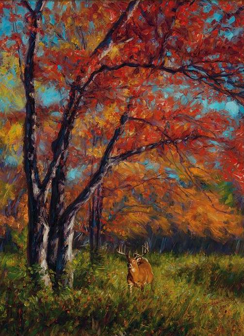 John Banovich - Whitetail Autumn