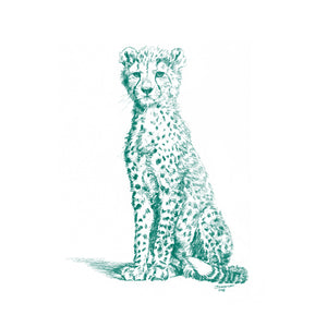 John Banovich - WILD CHILD-Cheetah (Canvas Gallery Edition)