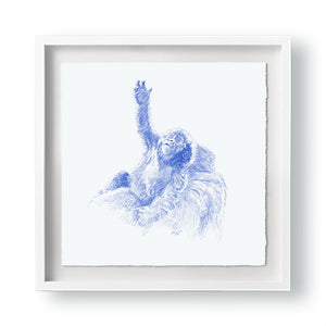 John Banovich - WILD CHILD-Gorilla (Paper Gallery Edition)