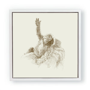 John Banovich - WILD CHILD-Gorilla (Canvas Gallery Edition)
