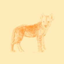 John Banovich - WILD CHILD-Hyena (Paper Gallery Edition)