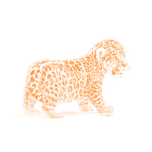 John Banovich - WILD CHILD-Jaguar (Paper Gallery Edition)