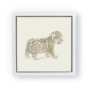 John Banovich - WILD CHILD-Jaguar (Canvas Gallery Edition)