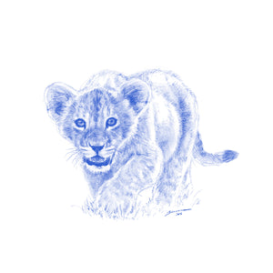 John Banovich - WILD CHILD-Lion (Canvas Zawadi Edition)