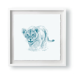 John Banovich - WILD CHILD-Lion (Paper Gallery Edition)