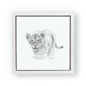 John Banovich - WILD CHILD-Lion (Canvas Gallery Edition)