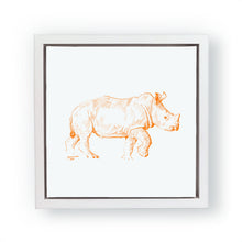 John Banovich - WILD CHILD-Rhino (Canvas Zawadi Edition)