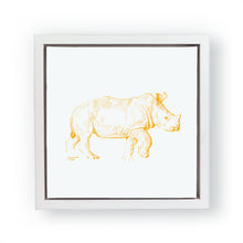 John Banovich - WILD CHILD-Rhino (Canvas Gallery Edition)