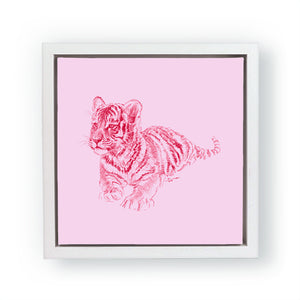 John Banovich - WILD CHILD-Tiger (Canvas Zawadi Edition