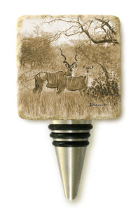 Banovich Wild Accents-Ungulates Collection-Wine Stoppers