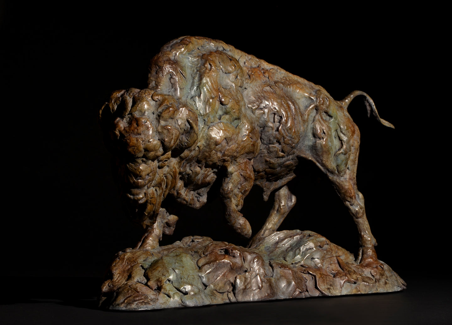 Mick Doellinger-Defiant-Limited Edition Sculpture