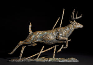 Mick Doellinger-Out of Nowhere-Limited Edition Sculpture