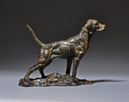 Mick Doellinger-Duke Down-Limited Edition Sculpture