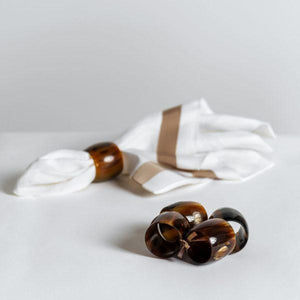 ANK-Nafasi Napkin Rings - set of 4