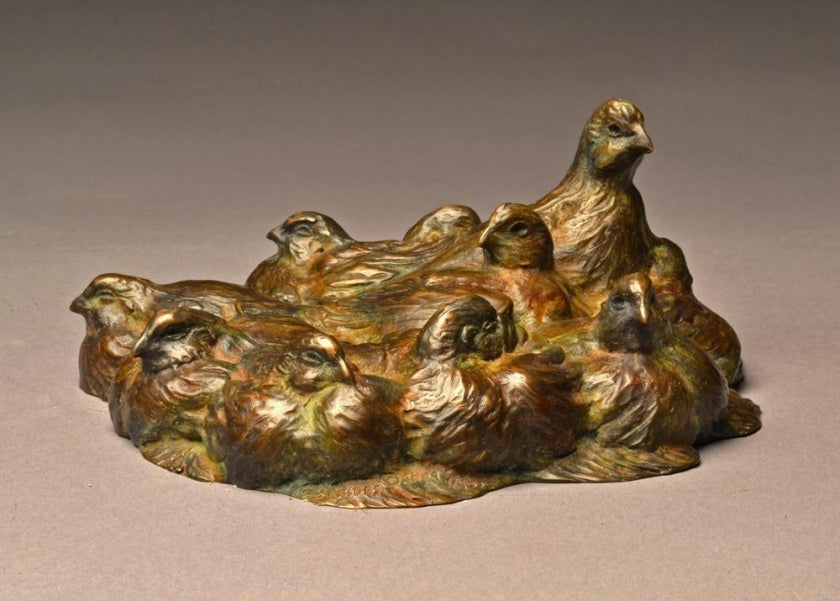 Stefan Savides - Quail Pie- Limited Edition Sculpture