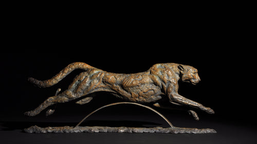 Mick Doellinger-Gaining Ground-Limited Edition Sculpture