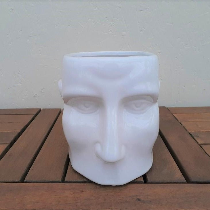 White Ceramic Head