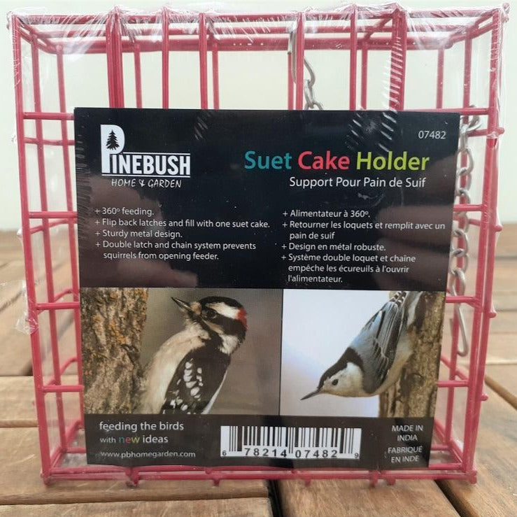 Birdfeeder 'Suet Cake Holder'