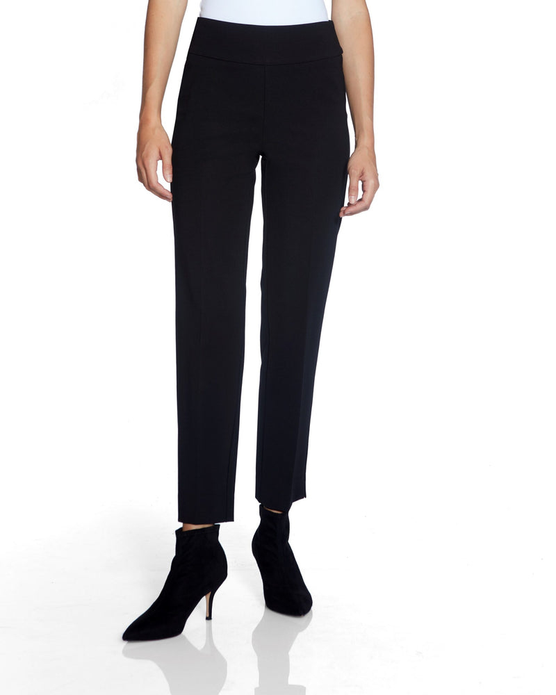 Black Pants with Side Slit