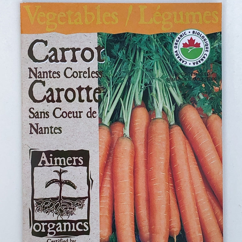 Carrot 'Nantes Coreless'