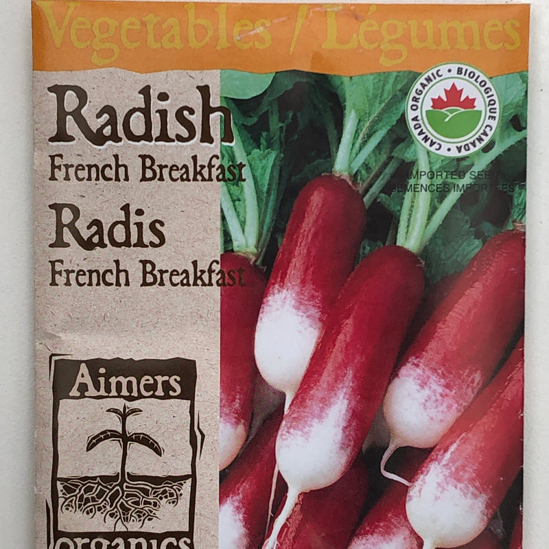 Radish 'French Breakfast'