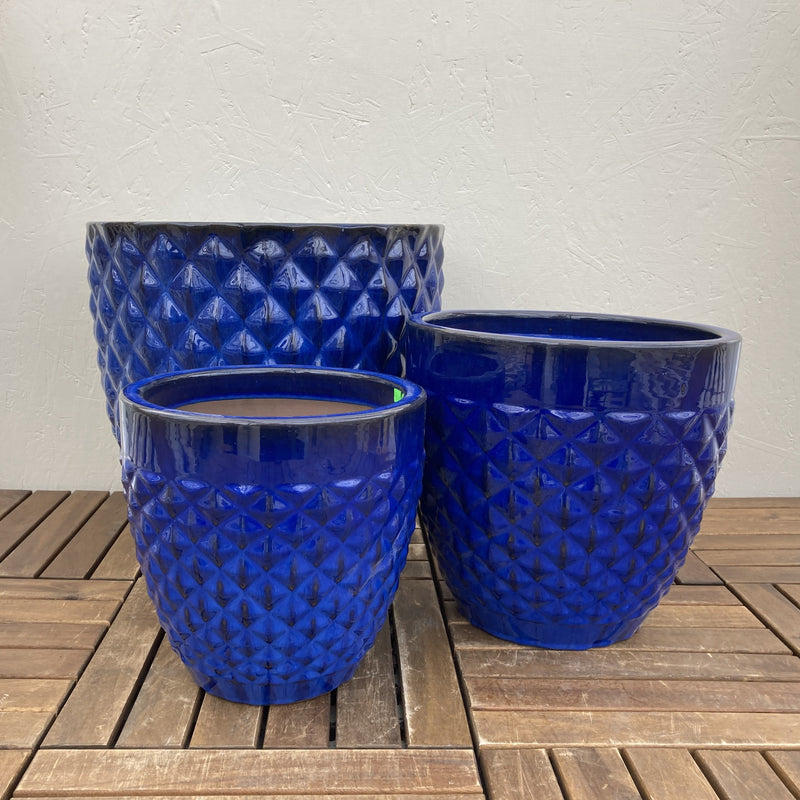Blue Diamond Planter