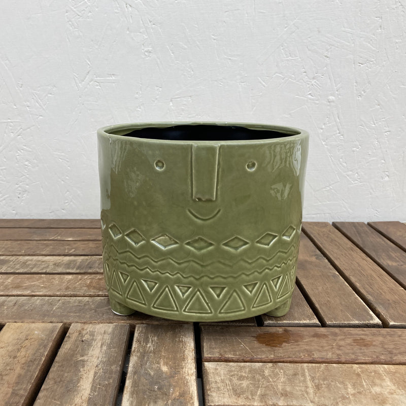 Smiling Pot Green