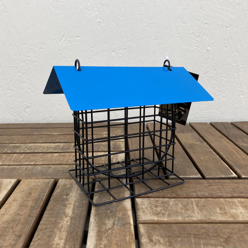 Bird Feeder Suet Holder Blue