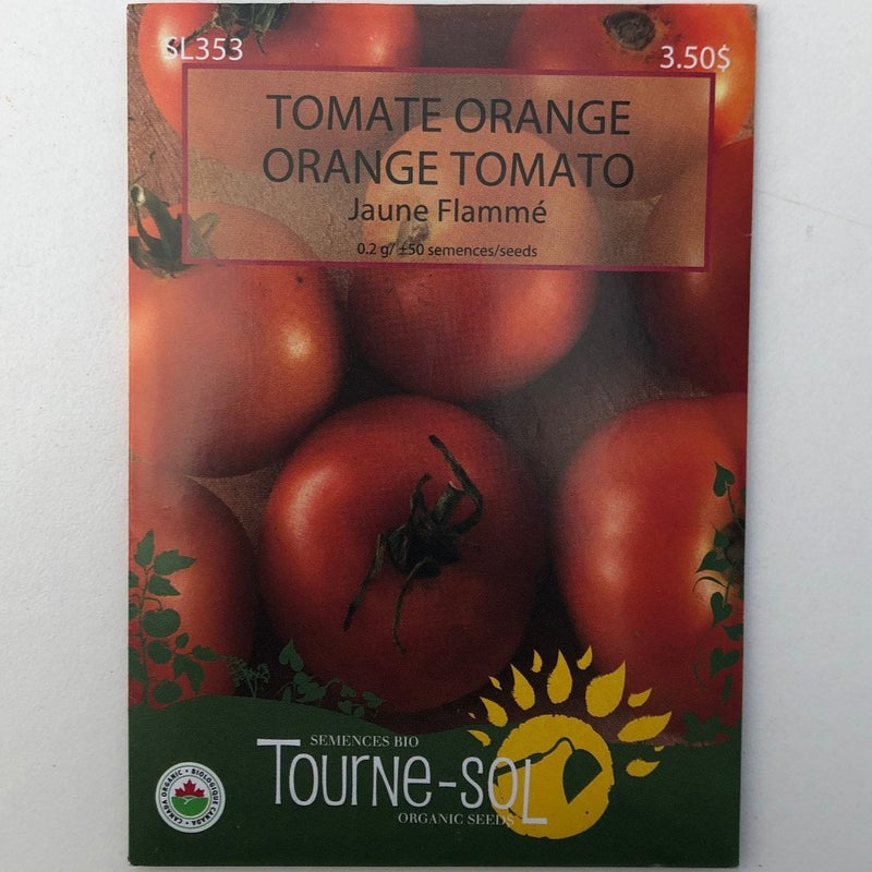 Tomato (Heirloom) 'Jaune Flamme'