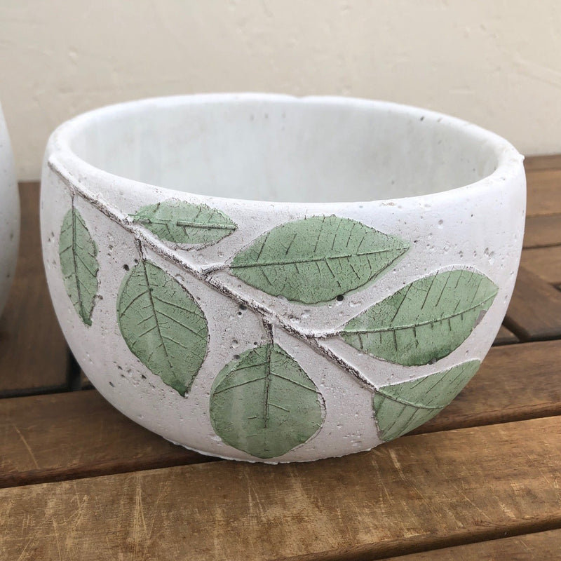 Green Leaf Planter