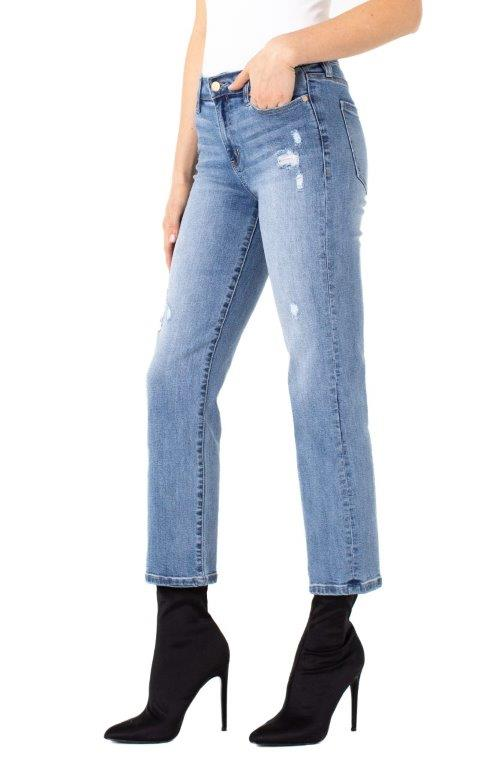 Denim - Crop in Gordon
