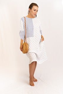 Combo Stripe/Poka Dot Dress