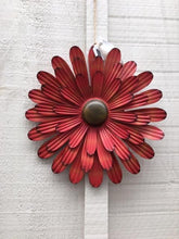 Load image into Gallery viewer, Metal Flower Wall Art