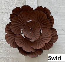 Load image into Gallery viewer, Assorted Rusted Flower Wall Art